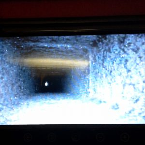 Chimney camera inspection, after